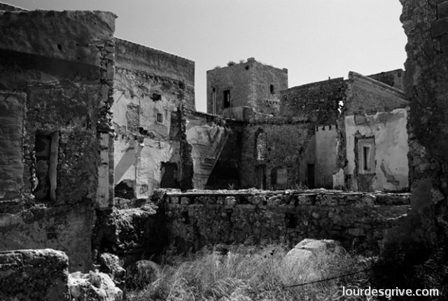 """Memory of greatness""The castle of Ibiza and Formentera.Ibiza 2002"